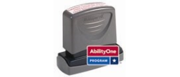 7520-01-381-8037 - AbilityOne C13 -XstamperVX Pre-Inked Business Address Stamp